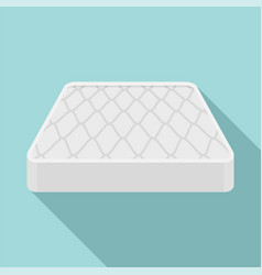 sleeping mattress icon flat style vector image