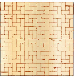 Wooden parquet flooring vector