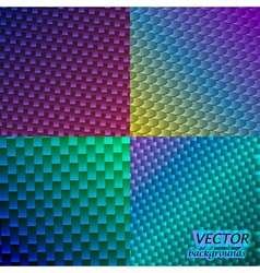 Neon backgrounds vector image