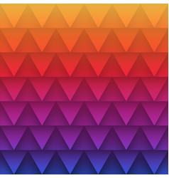 abstract triangles pattern background vector image vector image