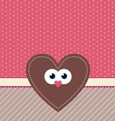 cute valentine design vector image vector image