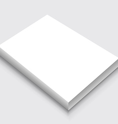 A4 Paper Stack vector image vector image