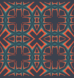 dark seamlessgeometry pattern tileable vector image