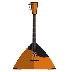 Balalaika music icon flat isolated vector