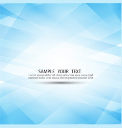 Blue abstract background composed vector