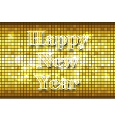 Disco Happy New Year vector image