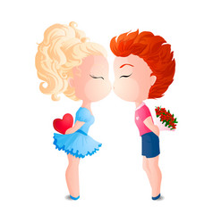 First kiss vector