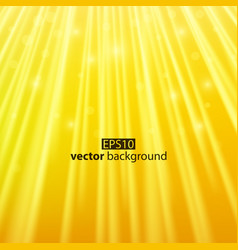 warm yellow sun beam summer concept vector image