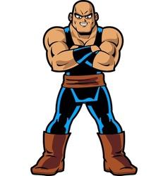 Anime Manga Muscle Man vector image