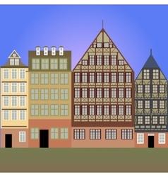 Frankfurt am Main vector image