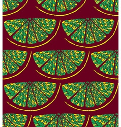 Lemon pattern2 vector image vector image