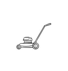 mover hand drawn sketch icon vector image