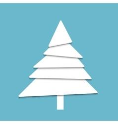 Creative paper tree vector image
