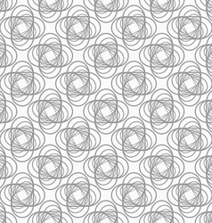 Slim gray striped four foils in grid vector image vector image