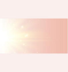beautiful elegant soft glowing light rays vector image
