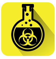 Bio hazard warning sign vector