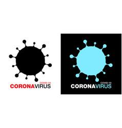 coronavirus covid19-19 icon set ncov vector image
