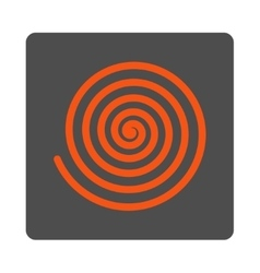 Hypnosis Rounded Square Button vector