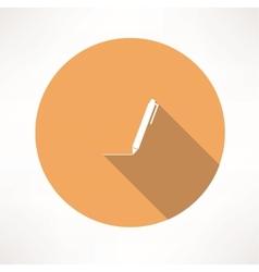 pen - icon vector image