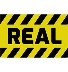 Real sign vector
