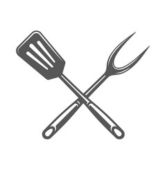 Spatula isolated on white background vector