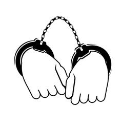 crime icon image vector image