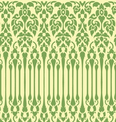 seamless vine pattern vector image vector image