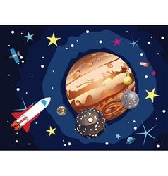 Jupiter Planet vector image
