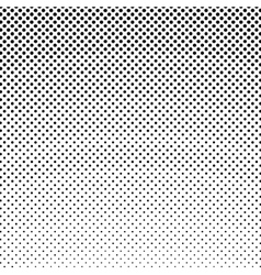 Black dots on a white background retro style vector