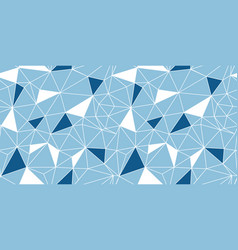blue network web texture seamless pattern vector image