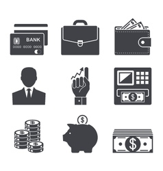 Business money and finance icon vector