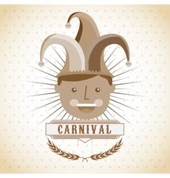 circus entertainment design vector image