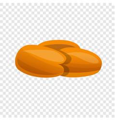 corn nuts icon cartoon style vector image