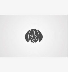 dog icon sign symbol vector image