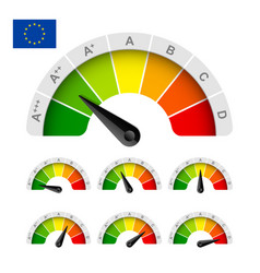 European union energy efficiency rating vector