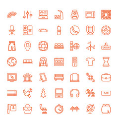 modern icons vector image