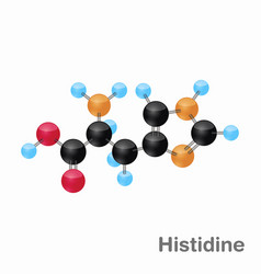 Molecular omposition and structure of histidine vector