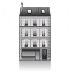 Paris buildings vector