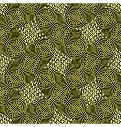 retro geometric print vector image vector image