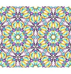 Thin Kaleidoscopic Fractal Pattern vector
