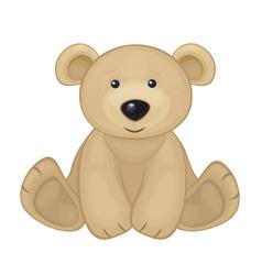 Bear sit vector
