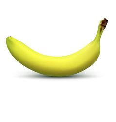 Ripe banana vector image