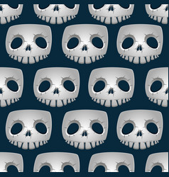 skeleton texture seamless vector image vector image