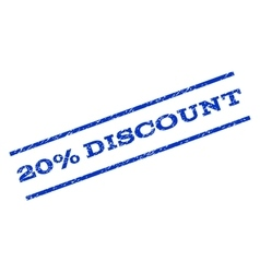 20 Percent Discount Watermark Stamp vector