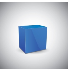 Abstract cube vector image