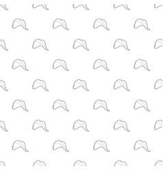 fisherman hat pattern seamless vector image
