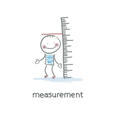 Measurement of growth vector image