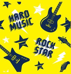 music pattern 009 vector image