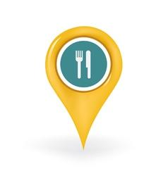 Restaurant Location vector