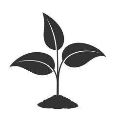 Sprout sign vector